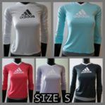 Adidas Women Long Sleeve Large Graphic