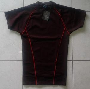 Kaos Cool Hitam Merah