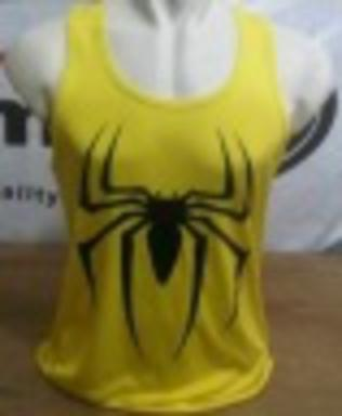 Singlet Kuning Spiderman