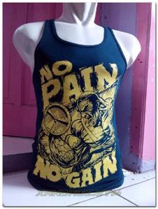 Singlet No Pain Hijau