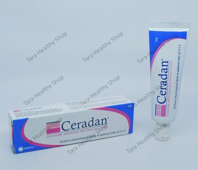 Ceradan Cream – 30 gram (Pelembab Kulit Yang Diperkaya Dengan Ceramide – Cocok Untuk Kulit Yang Kering & Sensitif – Aman Untuk Bayi)