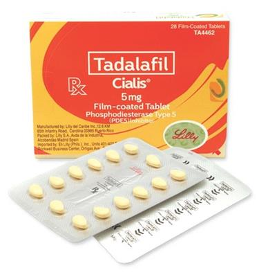 Cialis 5 mg – Tablet FC / OAD 5 mg (Obat Disfungsi Ereksi)