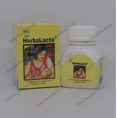 Combiphar Herbalacta – 60 Kaplet (Suplemen untuk Meningkatkan & Memperlancar Air Susu Ibu [ASI])