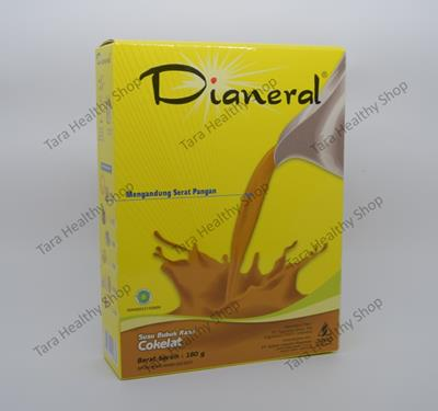 Dianeral Coklat 180 gram (Susu Pengganti Makanan Untuk Penderita Kencing Manis / Diabetes)
