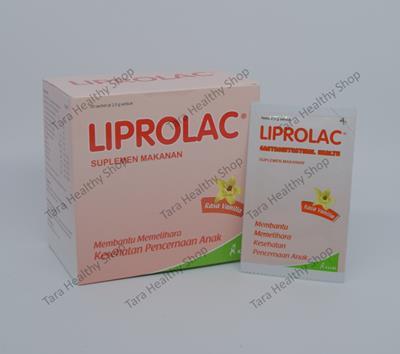 Liprolac – Synbiotik (Prebiotik + Probiotik) Anak Berkualitas