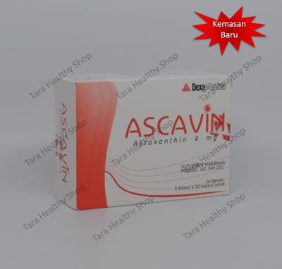 Ascavin 4 mg – 30 Kapsul (Antioksidan Super Untuk Kesehatan Tubuh)
