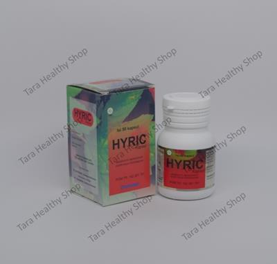 Interbat Hyric – 50 Kapsul (Suplemen untuk membantu mengatasi Asam Urat & Gout Akut)
