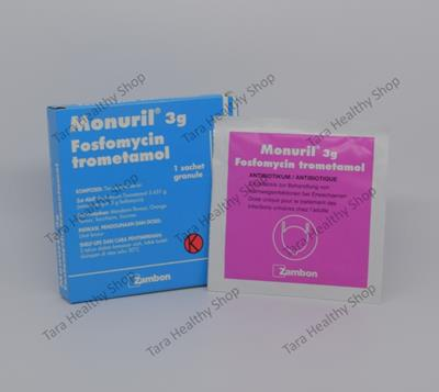 Monuril 3 gram – Fosfomycin Trometanol (Mengobati Infeksi Saluran Kemih Bagian Bawah)