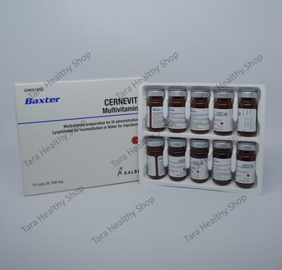 Cernevit – Multivitamin Parenteral (10 Vial)