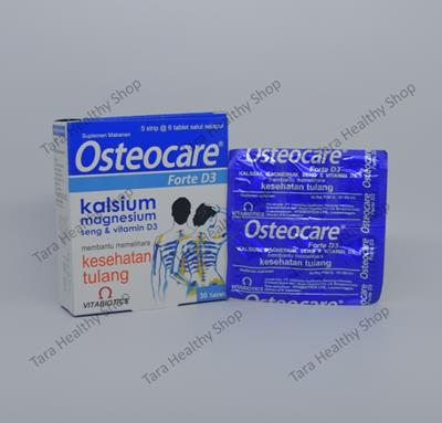 Osteocare Forte Food Supplement – 30 Tablet (Menjaga Kesehatan Tulang)