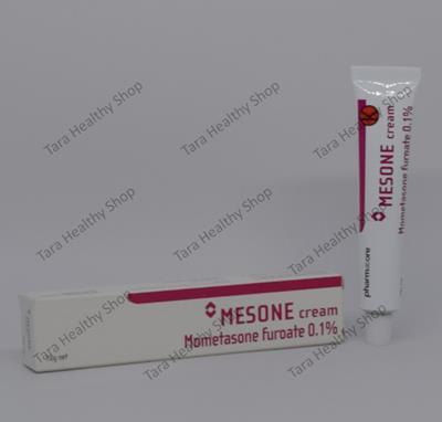 Mesone 0,1% Cream – 10 gram (Anti Radang & Alergi – Psoriasis & Dermatitis Atopik)