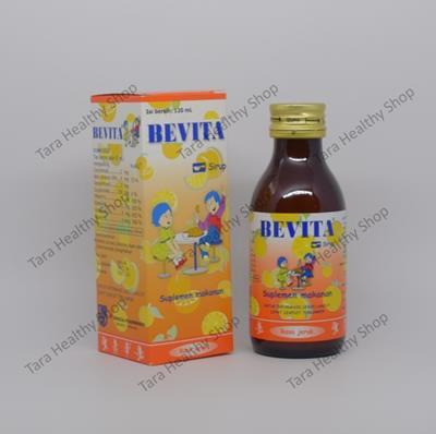 Bevita Syrup 120 ml (Penambah Nafsu Makan & Memenuhi Kebutuhan Vitamin Pada Masa Pertumbuhan)