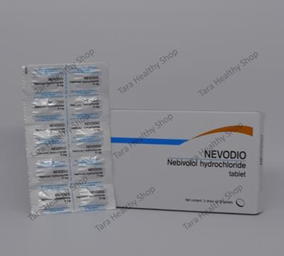 Nevodio (Nebivolol Hydrochloride) 5 mg – 30 Tablet (Obat Hipertensi / Darah Tinggi)