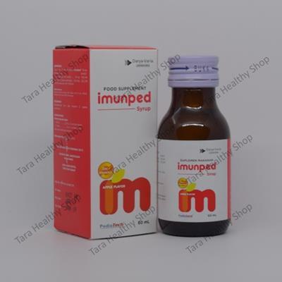 Imunped Syrup – 60 ml (Suplemen Daya Tahan Tubuh & Antioksidan Anak)