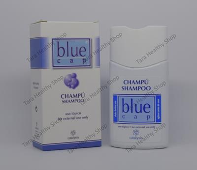 Blue Cap Shampoo – 150 ml (Ampuh untuk Ketombe & Seborrhoic Dermatitis)