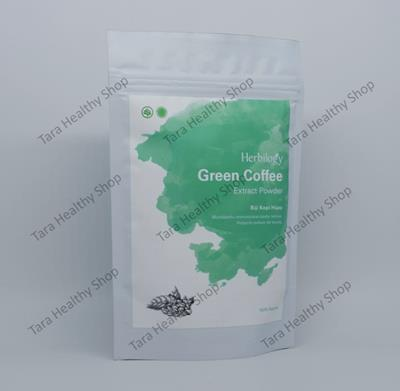Herbilogy Green Coffee Extract Powder 100% Natural – 100 gram (Program Diet – Membantu Menurunkan Kadar Lemak)