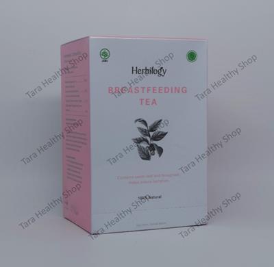 Herbilogy Breastfeeding Tea (20 Kantong @ 2 gram) 100% Natural (Memperlancar Produksi Air Susu Ibu [ASI])