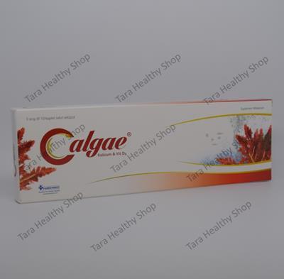 Calgae – 30 Kaplet (Calcium & Vitamin D Berkualitas Untuk Kesehatan Tulang & Gigi)