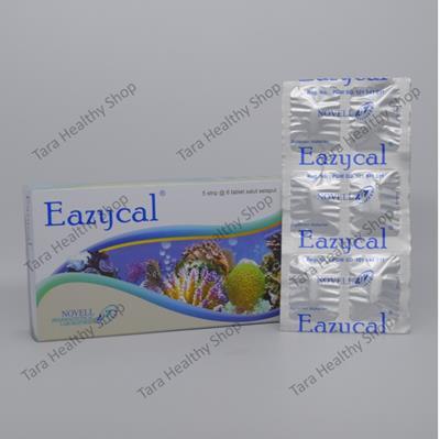 Eazycal – 30 Tablet Salut Selaput (Suplemen Kalsium Berkualitas Tinggi)