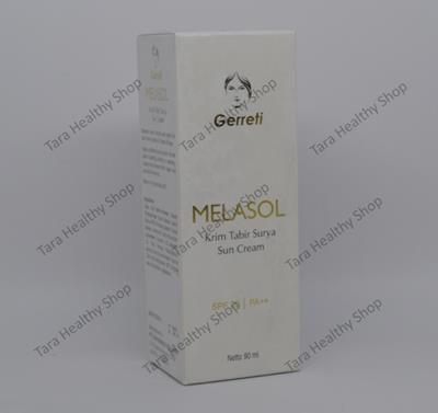Gerreti Melasol SPF 20/PA++ Sun Cream – 90 ml (Krim Tabir Surya)
