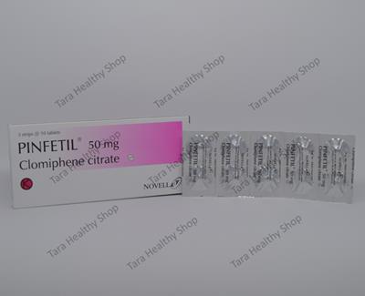 Pinfetil – 30 Tablet / Box (Clomiphene Citrate untuk Program Kehamilan)