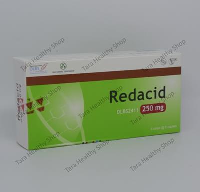 Redacid – 30 Kaplet (Suplemen Untuk Meringankan Gangguan Pada Lambung)