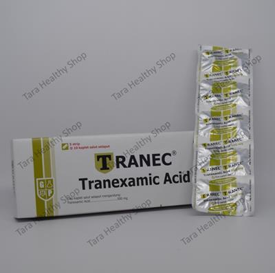 Tranec – 50 Kaplet Salut Selaput / Box (Anti Perdarahan Berkualitas)