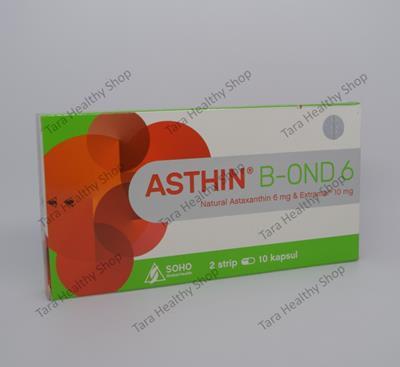 Asthin B-OND 6 – 20 Soft Kapsul (Antioksidan Kulit Berkualitas)