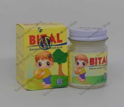 Bital Baby Balm – 40 gram (Balsem Lembut Untuk Anak)