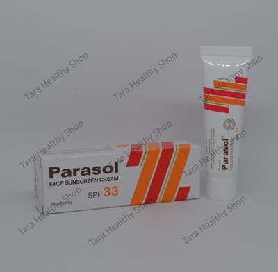Parasol Face Sunscreen Cream SPF 33 – 20 gram (Tabir Surya Untuk Kulit Berminyak)