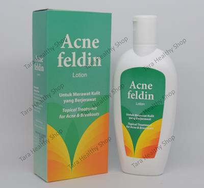 Acne Feldin Lotion – 110 ml (Merawat Kulit Yang Berjerawat)