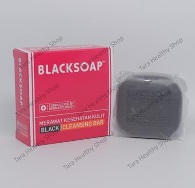 Blacksoap – 60 gram (Sabun Antibakteri Berkualitas – Membantu Mengatasi Scabies)