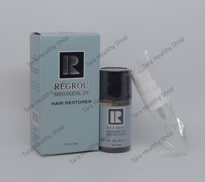Regrou Hair Restorer (Minoxidil 2%) – 30 ml (Penumbuh Rambut / Mengobati Kebotakan Pada Wanita)