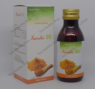 Xanda DS – 120 ml (Meningkatkan Nafsu Makan + Multivitamin Komplit)