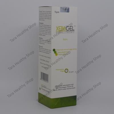 Xepagel – 75 gram (Pelembab Kulit Dengan Ceramide + Antioksidan)