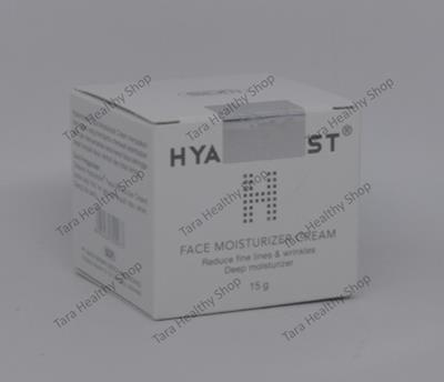 Hyalumoist Face Moisturizer Cream – 15 gram (Menyamarkan Garis Halus & Kerutan)