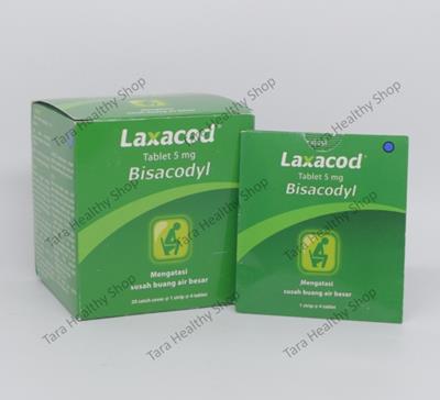 Laxacod – 80 Tablet (Mengatasi Konstipasi – Susah Buang Air Besar)
