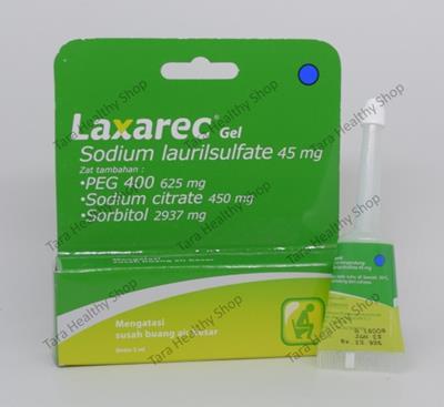 Laxarec – 5 ml (Mengatasi Konstipasi – Susah Buang Air Besar)