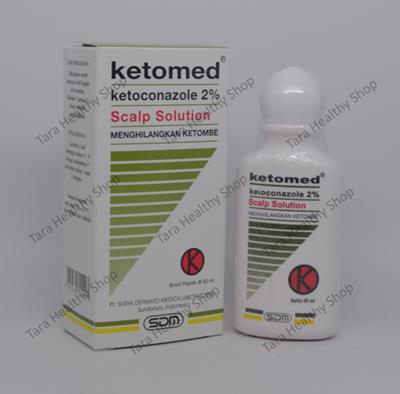 Ketomed Scalp Solution – 60 ml (Anti Ketombe Berkualitas)