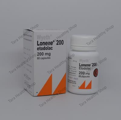 Lonene 200 – 60 Kapsul (Anti Nyeri & Anti Radang Berkualitas)