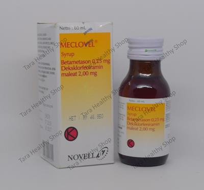 Meclovel Syrup – 60 ml (Anti Alergi Berkualitas)