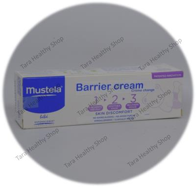 Mustela Barrier Cream 123 – 50 ml (Cream Anti Ruam Popok Berkualitas)