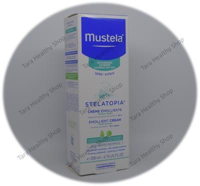 Mustela Stelatopia Emollient Cream – 200 ml (Cream Hipoalergenik Untuk Kulit Yang Sensitif)