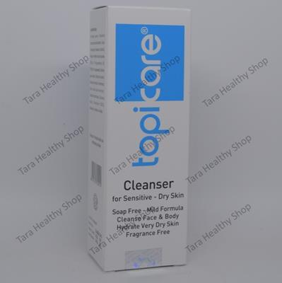 Topicare Cleanser – 90 ml (Sabun Mandi Untuk Kulit Kering, Bersisik & Sensitif)