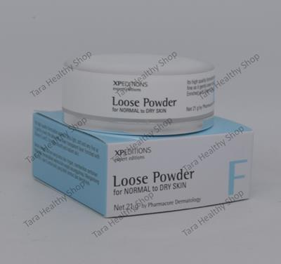 Xpeditions Loose Powder for Normal to Dry Skin – 21 gram (Bedak Untuk Kulit Wajah Yang Normal Kering)