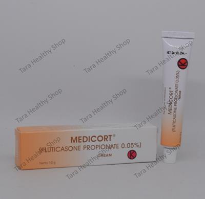 Medicort Cream – 10 gram (Mengatasi Berbagai Masalah Di Kulit)
