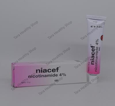 Niacef – 15 gram (Mengobati Jerawat yang Meradang & Mencerahkan Kulit)